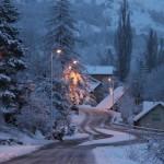ladraille apres la neige